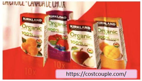 コストコの4種類入りフルーツジュース