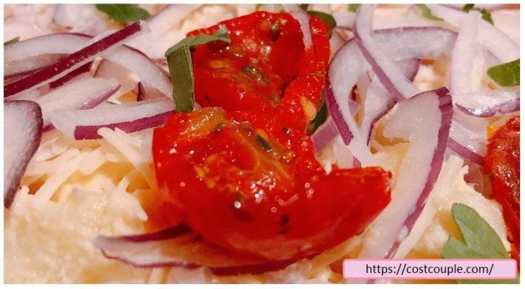 コストコの購入品画像(2020年2月26日)のコーンビーフポテトサラダのトマト