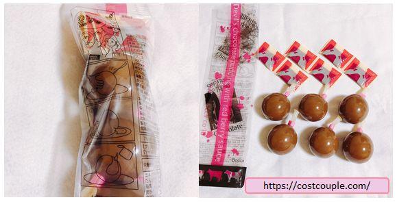 コストコのデビルズチョコレートプリンの画像