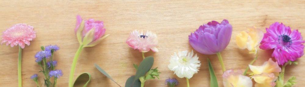 花のフレーム画像
