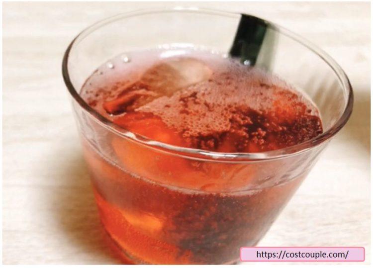 コストコの美酢(ざくろ味)の水割りのざくろ味