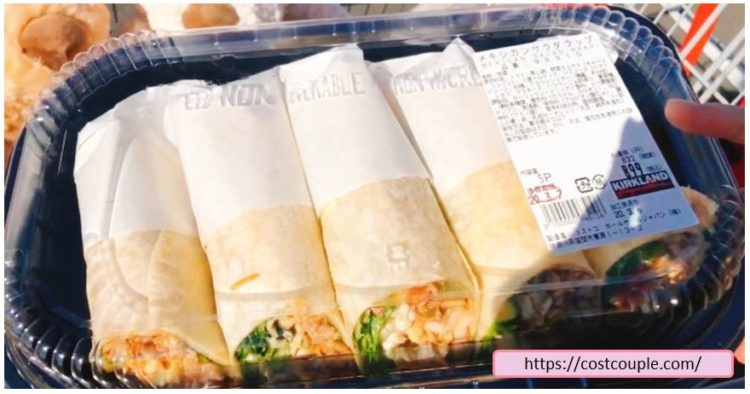 コストコ購入品一覧(2020年3月9日)のメキシカンサラダラップ
