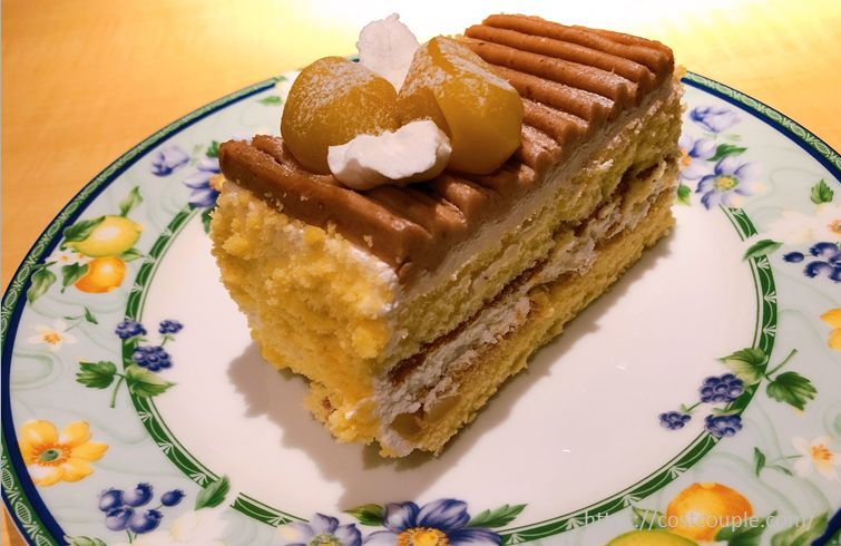 モンブランバーケーキ