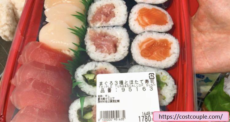 まぐろ3種とホタテ寿司