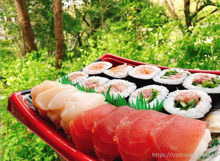 まぐろ3種とほたて寿司