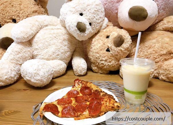 ラフランススムージーとペパロニピザ